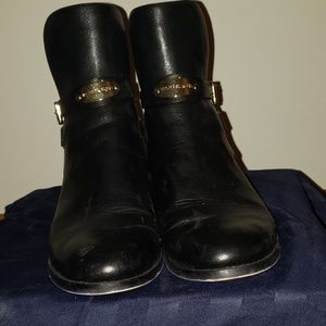 Micheal Kors black leather boot